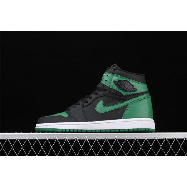 Men's Nike Air Jordan 1 High Pine Green Shoe