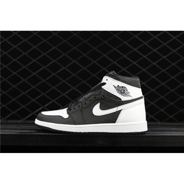 Men's Nike Air Jordan 1 Retro High OG Black White 3M Shoe