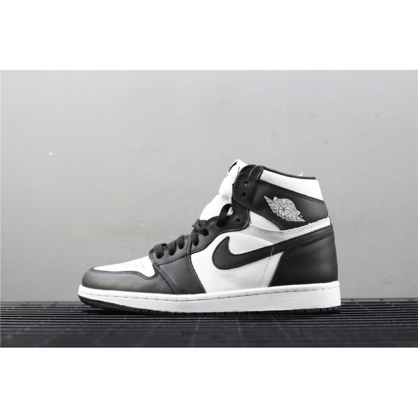 Men's Nike Air Jordan 1 Retro High OG Black White Shoe