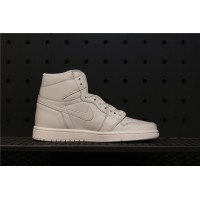 Men's Nike Air Jordan 1 Retro High OG Full Light Gray Shoe