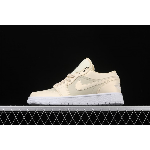 Nike Air Jordan 1 Low Sand White Shoe