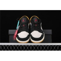 Nike Air Jordan 1 Low University Gold Black Shoe