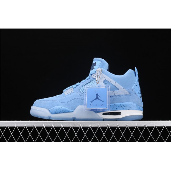Men's Nike Air Jordan 4 Retro CN In SkyBlue Shoe