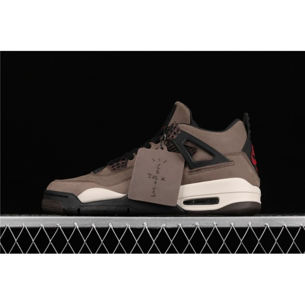 Men's Nike Air Jordan 4 Retro Flight In Brown Shoe