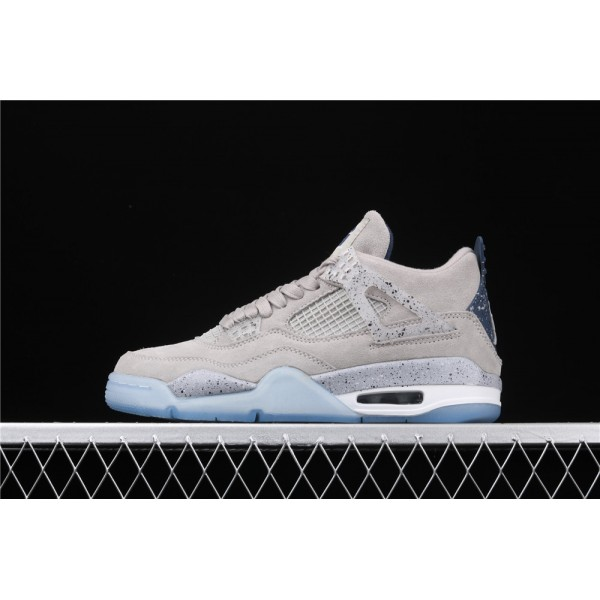 Men's Nike Air Jordan 4 Retro Flight In Gray Shoe