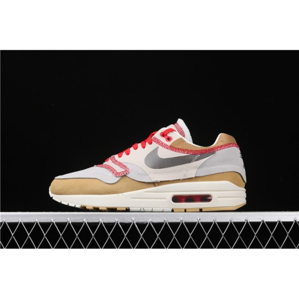 Nike Air Max 1 Premium SE 858876 713 gray chestnut For Men