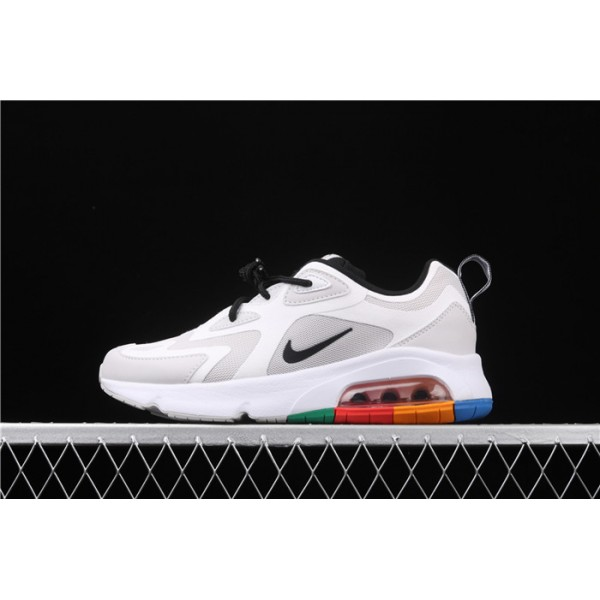 Men/Women Nike Air Max 200 AQ2568 002 white