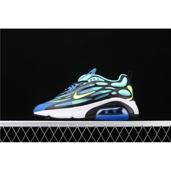 Men/Women Nike Air Max 200 AQ2568 200 blue black