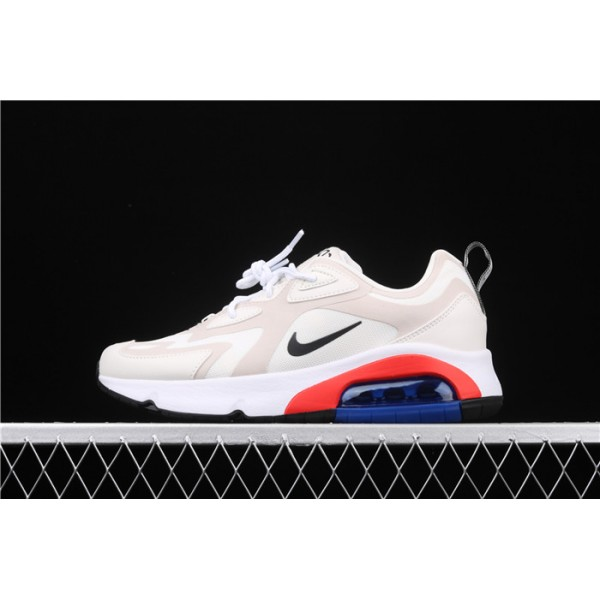 Men/Women Nike Air Max 200 AT6175 100 beige white