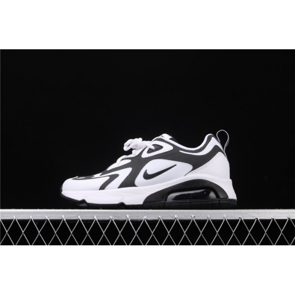 Men/Women Nike Air Max 200 AT6175 104 white black