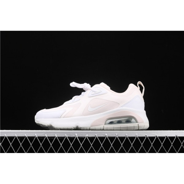 Men/Women Nike Air Max 200 AT6175 600 pink white