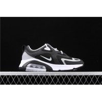 Men/Women Nike Air Max 200 CQ4599 010 white black