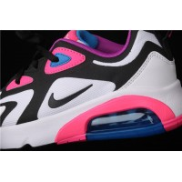 Nike Air Max 200 AT5630 100 white black rose red For Women