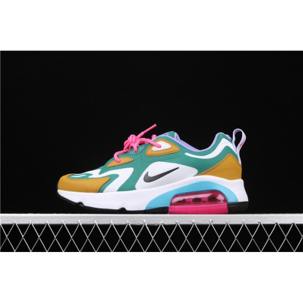 Nike Air Max 200 AT6175 300 green yellow For Women