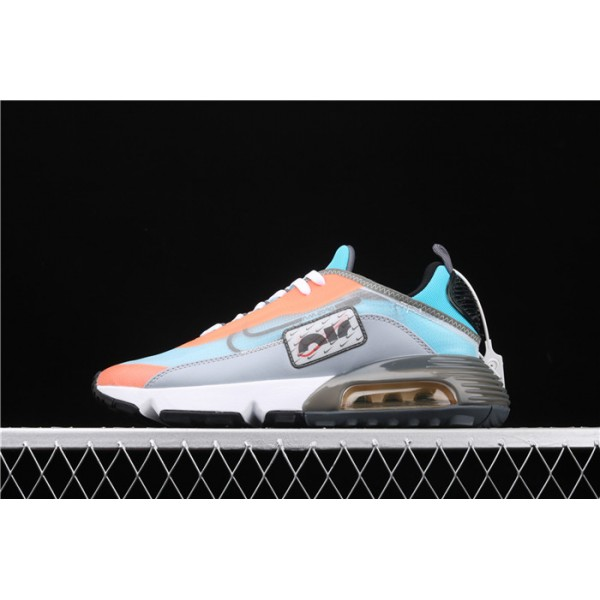 Men/Women Nike Air Max 2090 CQ7630 400 sky blue orange