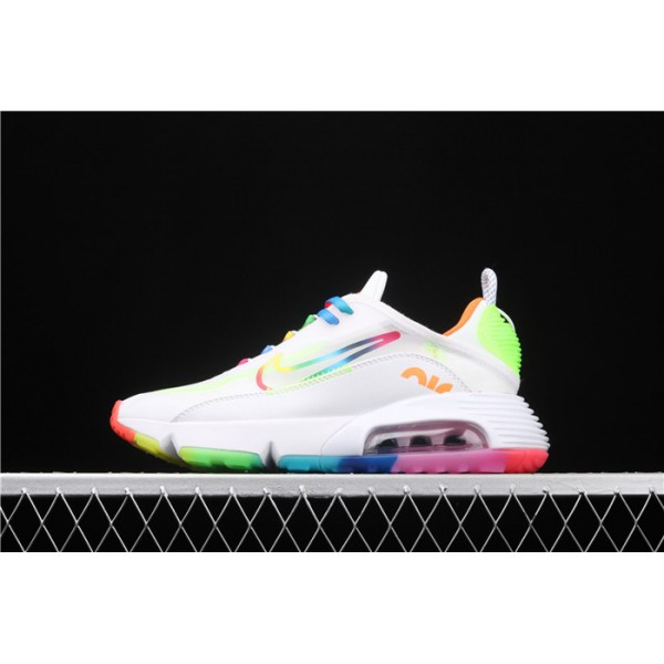 Men/Women Nike Air Max 2090 CT7695 105 colorful