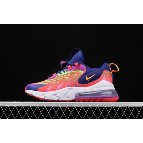 NiKe Air Max 270 React ENG CD0113 600 orange purple For Men