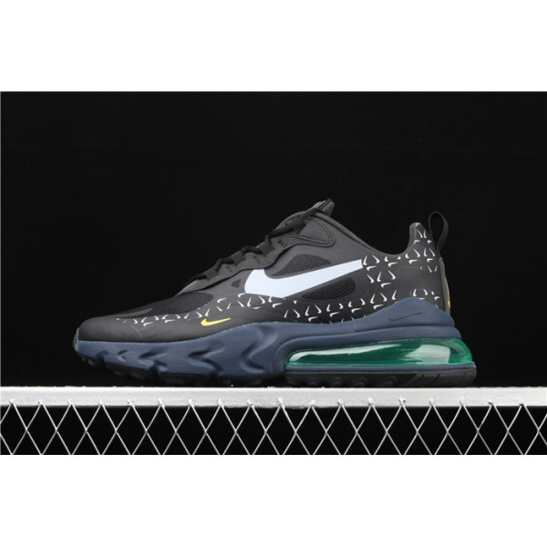 Nike Air Max 270 React CT2538 001 black logos For Men
