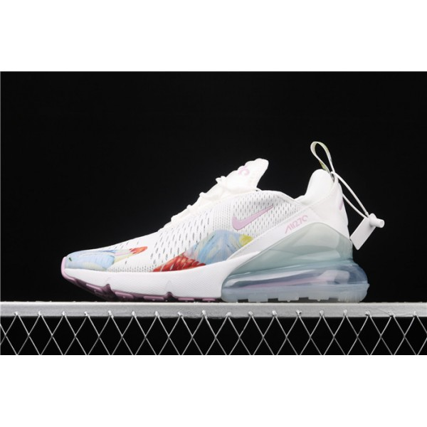 Men/Women Nike Air Max 270 3M AT6819 100 white