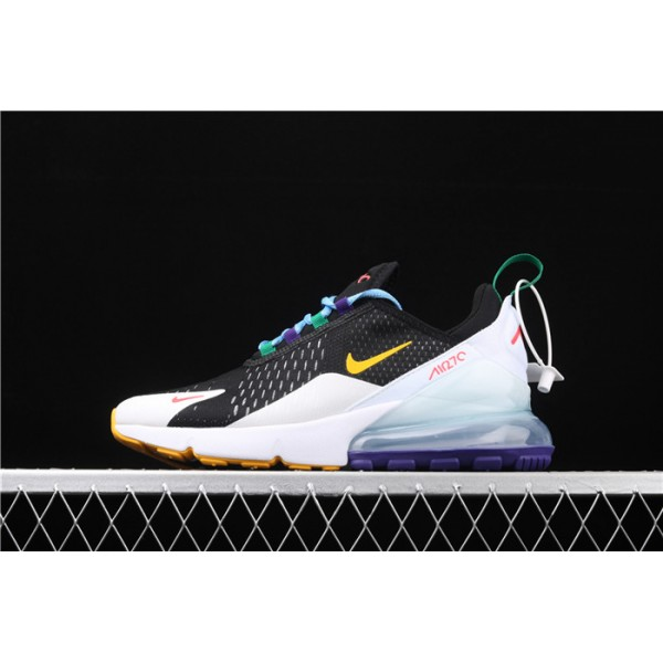 Men/Women Nike Air Max 270 3M CN7078 071 black white