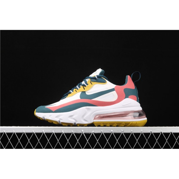 Men/Women Nike Air Max 270 React CT1264 103 blue red