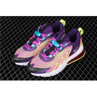 NiKe Air Max 270 React ENG CK2595 500 yellow pink For Women
