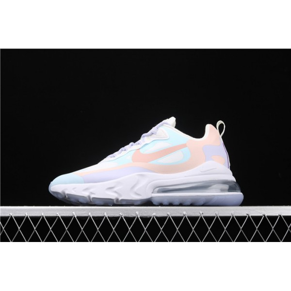 Nike Air Max 270 React CQ4805 146 pink purple For Women