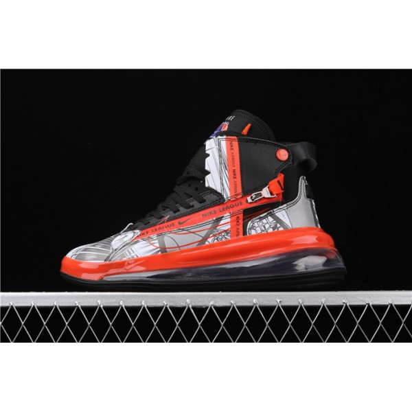 Nike Air Max 720 Saturn White Black Red CI1959 036 red For Men