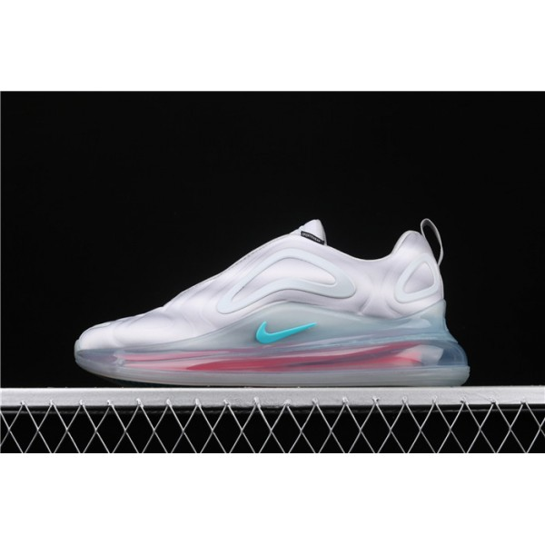 Men/Women Nike Air Max 720 Black Green AQ2924 011 white pink