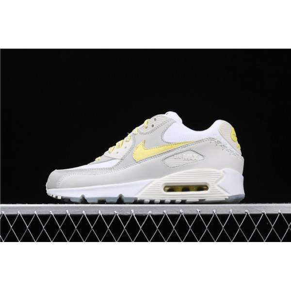 Nike Air Max 90 CI6394 100 white yellow For Men