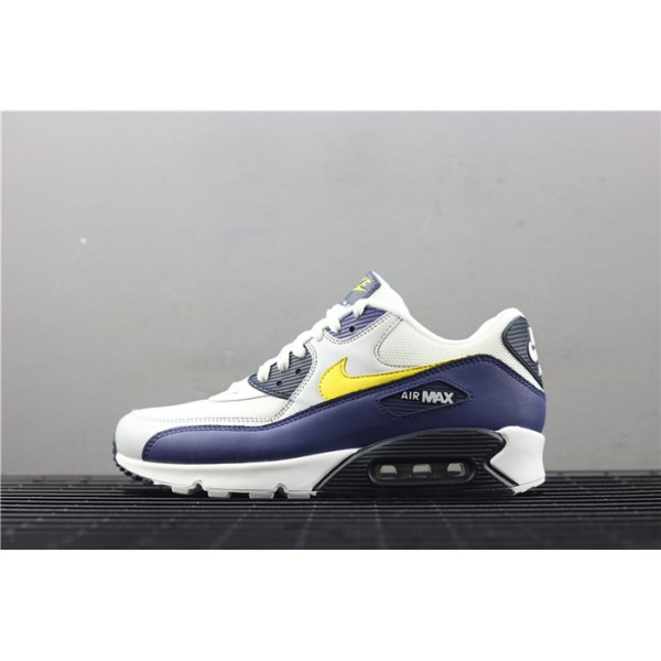 Nike Air Max 90 Essential AJ1285 101 white purple For Men