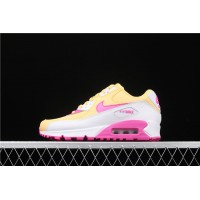 Nike Air Max 90 325213 702 Rose Red yellow For Women