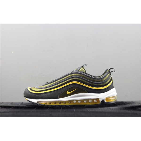 Nike Air Max 97 921826 005 black yellow For Men