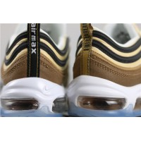 Men/Women Nike Air Max 97 921826 201 gold metallic