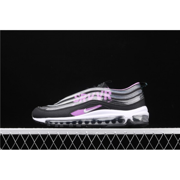 Men/Women Nike Air Max 97 DB BV7114 001 black purple silver