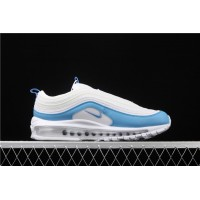 Men/Women Nike Air Max 97 Essential White Blue BV1982 101