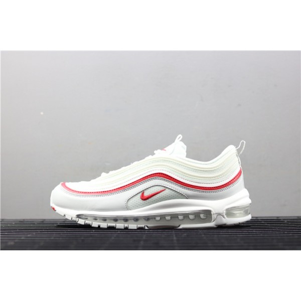 Men/Women Nike Air Max 97 OG AR5531 002 white red
