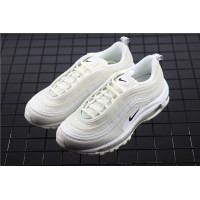 Men/Women Nike Air Max 97 Reflective Logo AR4259 100 beige