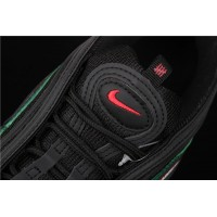 Men/Women Nike Air Max 97 Undefeated AJ1986 001 black green red