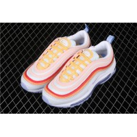 Men/Women Nike W Air Max 97 CW5588 001 pink orange